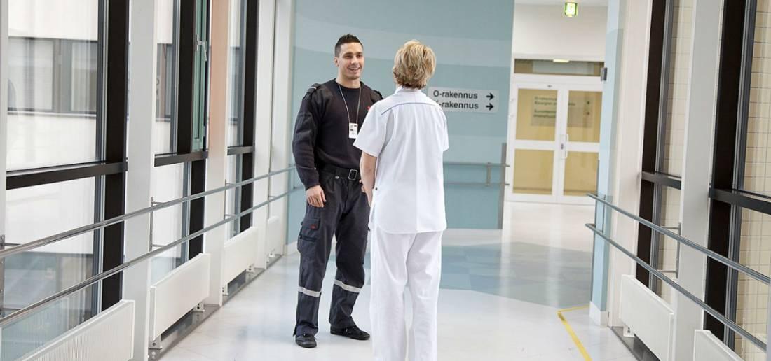 Охрана больниц в Спб