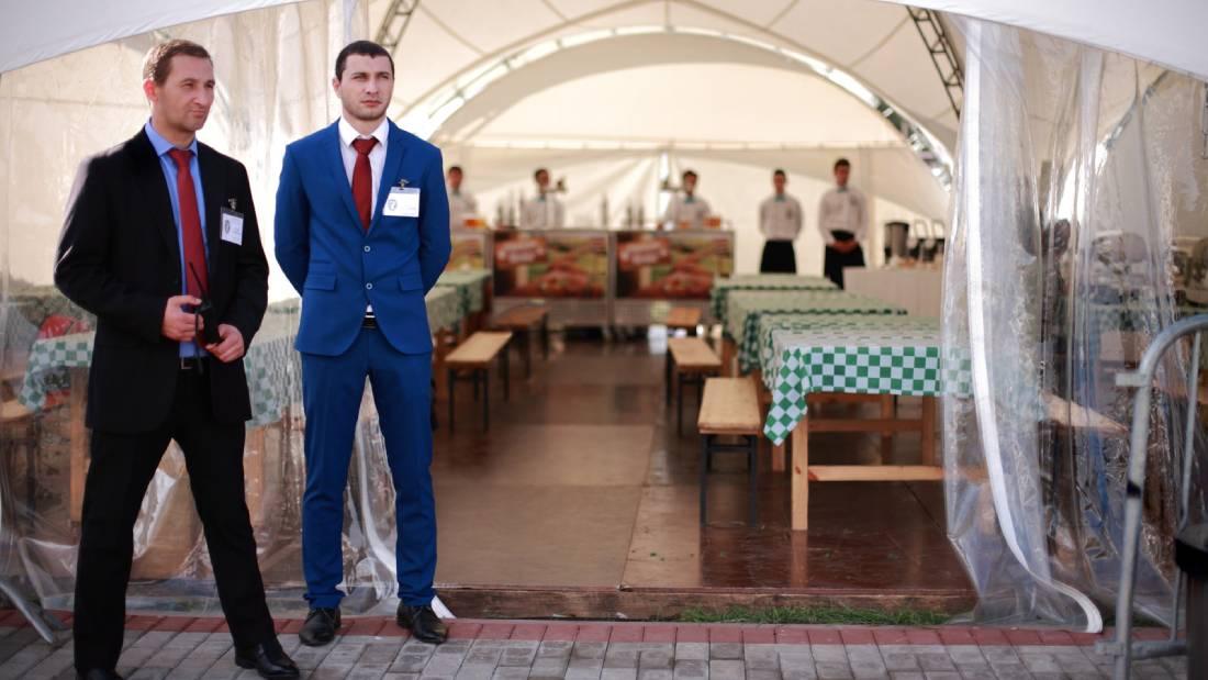 Охрана ресторанов в СПб