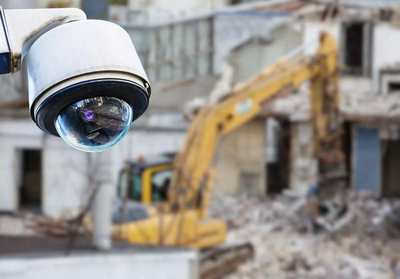 Организация видеонаблюдения для охраны строительной техники