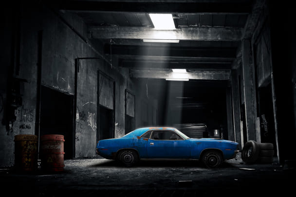 Поиск давно угнанного автомобиля