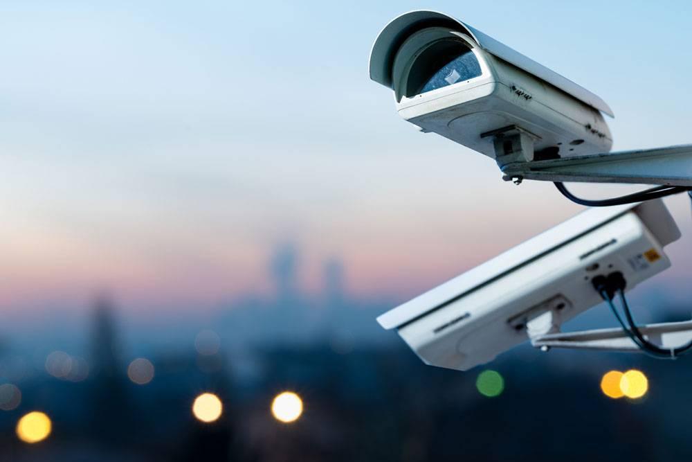 Установка видеонаблюдения ОП «Лидер»