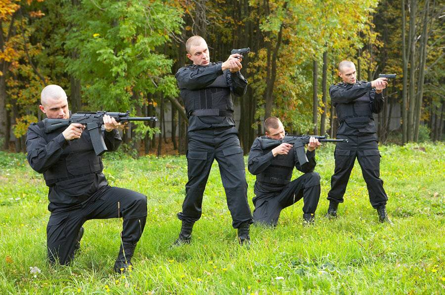 Вооруженная охрана в СПб